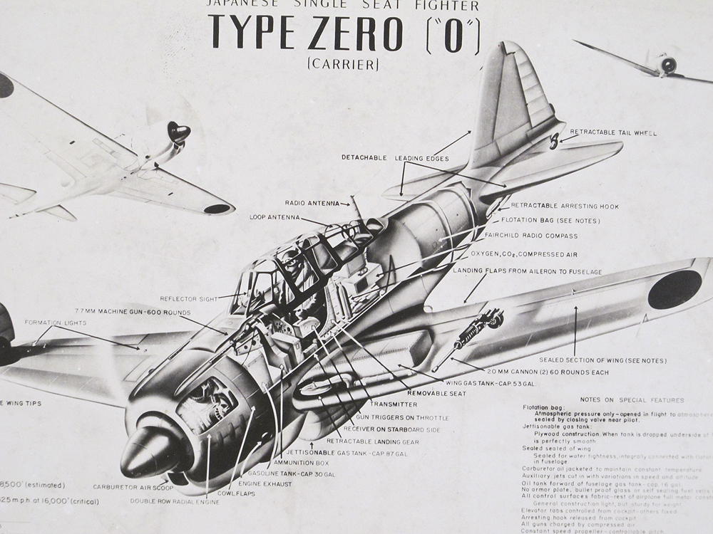 a6m zero cockpit coloring pages - photo #43